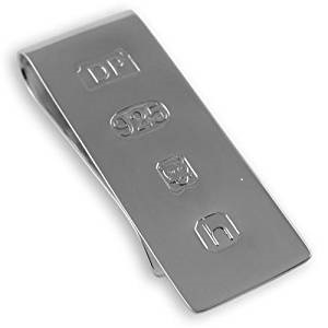 Sterling Silver Money Clip (CPS1620)