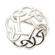 Celtic Knot Work Brooch (B268)