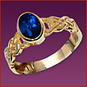Birthstone Rings Celtic R9841